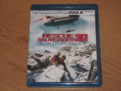 Rescue 3D Blu-Ray Region A IMAX