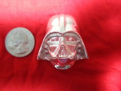 4.5 Troy ounce .999 Silver. Hand Poured Vader design ingot   MFS