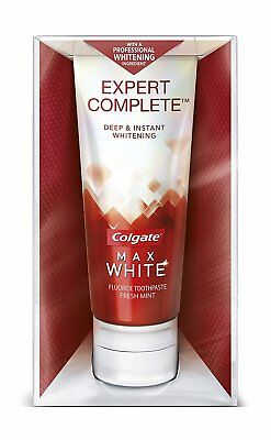 Colgate Max White Expert Complete Whitening Toothpaste, 90 ml