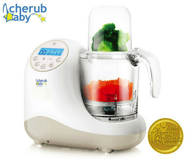 Cherub Baby Steamer Blender Baby Food Preparation Unit