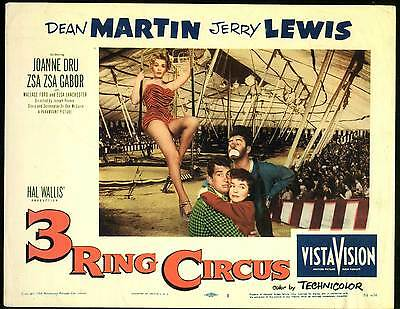 3 Three Ring Circus - 1954 - Dean Martin Jerry Lewis Pevney - Vintage Comedy DVD