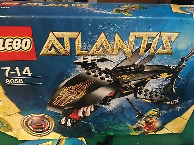 LEGO ATLANTIS 8058 • Guardian of the Deep •100% Complete, Box, Instruc, Stickers