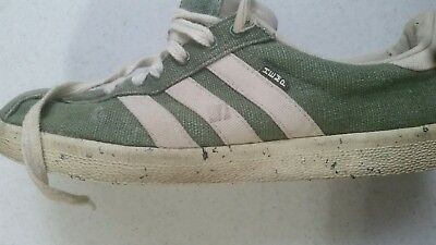 finest selection e0e92 63c23 Vintage Adidas HEMP Green US Size 8 Extremely Rare Originals (Pls View ALL  Photo