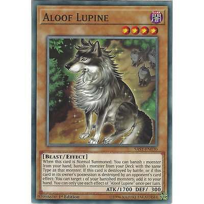 Aloof Lupine - SAST-EN030 - Common Card 1st Edition - Yu-Gi-Oh TCG Savage Strike