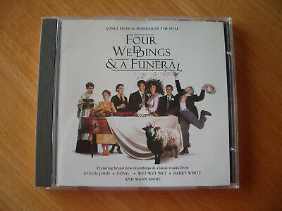 """CD Soundtrack """"Four Weddings & a Funeral"""""""