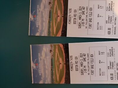 Red Sox Spring Training Tickets March 3