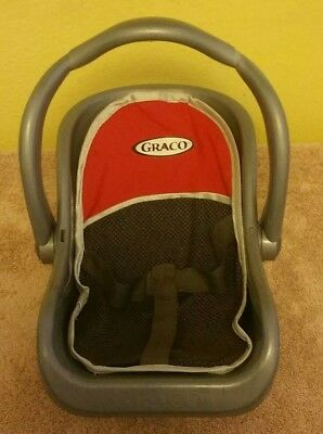 Tollytots Graco Baby Doll Adjustable Car Seat   Carrier With Cover   Strap 4a394512dc9