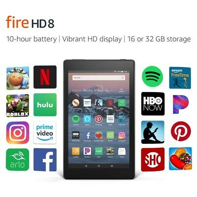 🔥NEW Amazon Kindle Fire HD 8 8th gen tablet 2018 Alexa 32 GB Different Colors🔥