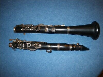 YAMAHA 457-17 MODERN GERMAN OEHLER ALBERT SYSTEM WOOD Bb SOPRANO CLARINET