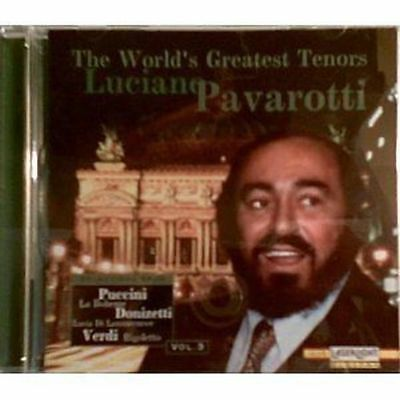 Luciano Pavarotti - The World's Greatest Tenors Cd *brand New/sealed**free P&p*