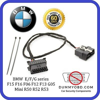 BMW E/F/G - Series DUMMY FAKE OBD PORT anti key copy security burglar faker