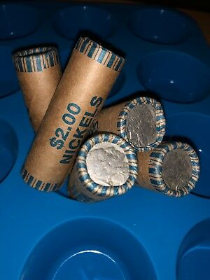 Sealed Old Buffalo Nickel -1 Roll many dates - various mints