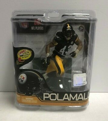 Troy Polamalu Pittsburgh Steelers McFARLANE NFL Series 29 action figure 38e45058f