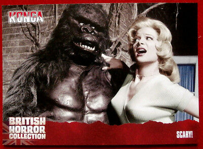 BRITISH HORROR COLLECTION - Konga! - SCARY! - Card #59