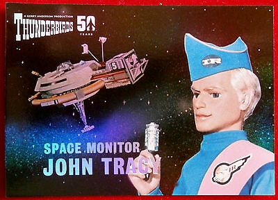 THUNDERBIRDS 50 YEARS - FOIL CHASE CARD - F9 - JOHN TRACY - Unstoppable Cards
