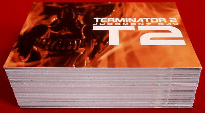 TERMINATOR - JUDGMENT DAY - T2 - COMPLETE BASE SET (72 Cards) - Unstoppable