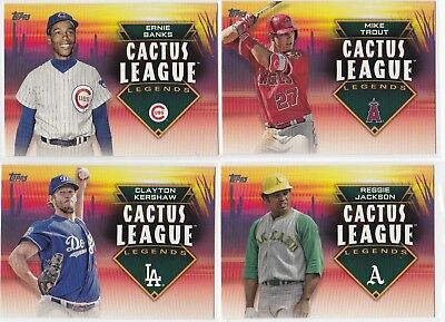 2019 Topps Series 1 Cactus League Legends Insert Singles - You Pick!