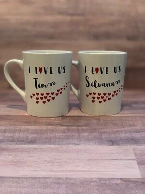 I Love Us - Personalized Coffee Mugs, Valentine's Gifts, Couple Gifts
