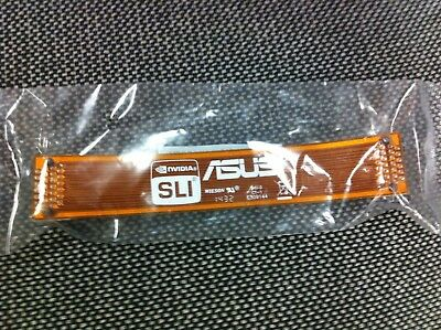 2 WAYS ASUS Flexible NVIDIA SLI Bridge CABLE for INTEL CHIP SET X79 ORIGINAL