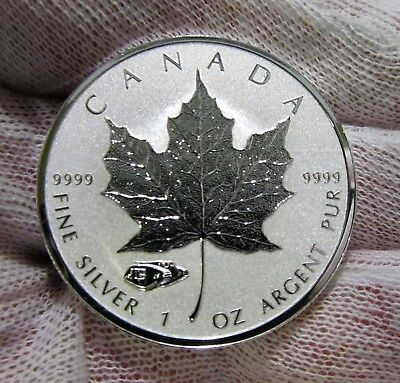2016 1 oz Canadian Reverse Proof Silver Maple Leaf with Mark V Tank Privy