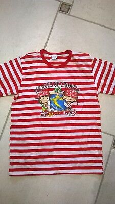 8a6317f65e434 TEE SHIRT RAYE Fille Taille 8 10 Ans - EUR 1