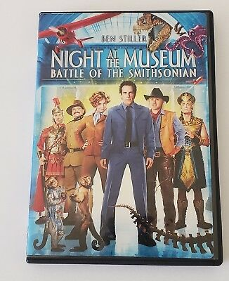 Night at the Museum: Battle of the Smithsonian (2009 DVD) Ben Stiller, Amy Adams