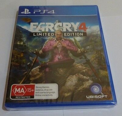 Far Cry 4  - Sony PS4 Game NEW SEALED - WOW - 70% OFF RRP Aussie Stock