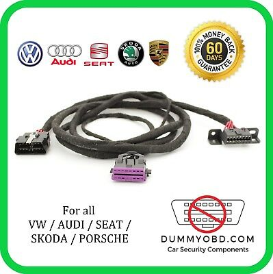 VW / AUDI / SKODA / SEAT dummy OBD port relocation extension diagnostic extender