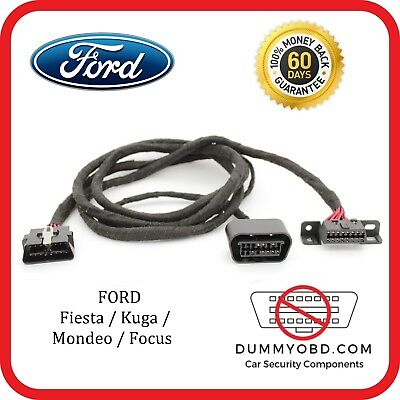 Ford Fiesta | Kuga | Mondeo dummy OBD port relocation extension diagnostic block