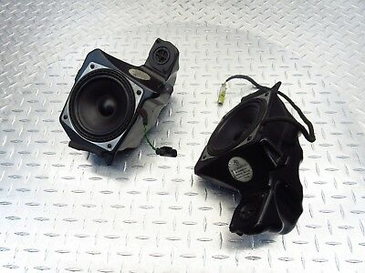 2009 07-09 Bmw R1200Rt R1200 Police Left Right Audio Speaker Oem Speakers Tested
