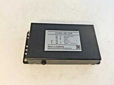 Dropper Voltage Converter Avel-Lindberg 24v to 13.7v LC100-24-12D