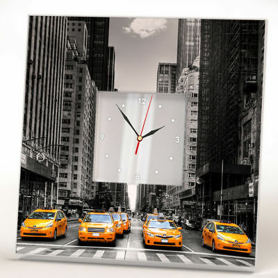 Desk, Mantel & Shelf Clocks Orologio Dello Scrittorio Città New York Taxi Decorativa Clocks