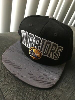90ff2d706f5 GOLDEN STATE WARRIORS Snap Back Cap Hat Embroidered Adjustable Flat ...
