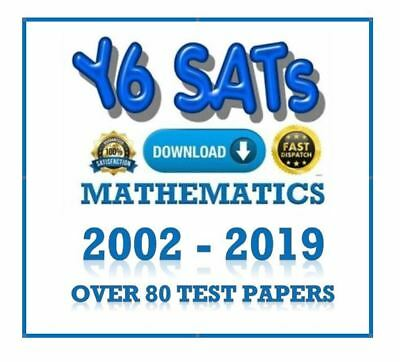 Year 6 SATs KS2 2002-2019 MATHS TEST PAPERS ARITHMETIC & REASONING WITH ANSWERS