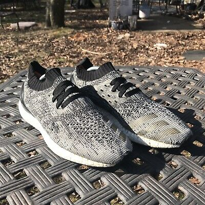 half off 8dcf6 8658b MSRP 180 Adidas Ultra Boost BB3900 Uncaged Core Black Grey Prime Knit Size  9.5