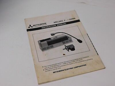 Mitsubishi MELSEC F2-32RM Cam switch instruction manual