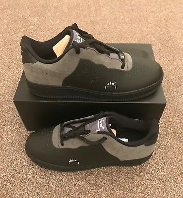 new product 677f8 4e6bd Nike Air Force 1 Low x A COLD WALL ACW Black - BQ6924-001 -