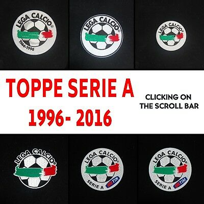 Toppa Serie A Patch Badge 1996-2016
