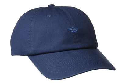 Dockers Men's Classic Baseball Dad Hat with Logo Navy Adjustable NEW