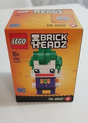 LEGO DC Comics Super Heroes 41588 BRICKHEADZ THE JOKER The Lego Batman Movie New