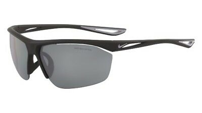 165ac4d87f7 NIKE Mens Tailwind S Matte Black Wolf Grey with Grey Silver Mirror Lens