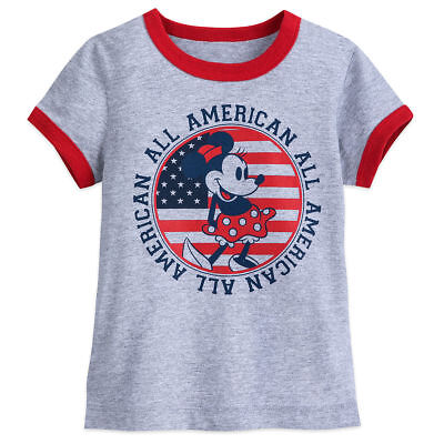 Disney Store: Minnie Mouse All-American T-Shirt For Girls -- Size 2/3