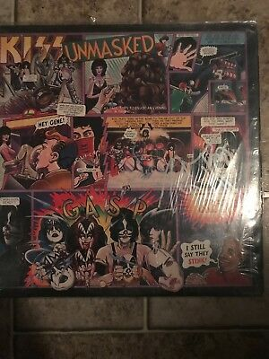 Kiss- Unmasked Lp With Poster And Merch Form Autographed By Peter Criss