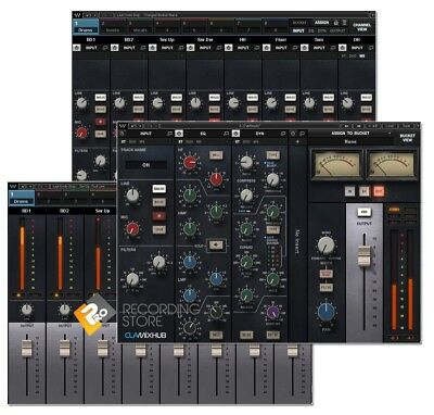 Waves CLA MixHub 8 Channel Bucket SSL Mixing Plugin AAX VST AU
