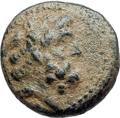 ARADOS in PHOENICIA Authentic Ancient 206BC Greek Coin w ZEUS & GALLEY i75491