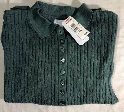 d06bb38f44 Great Northwest Traditions Woman s Button Sweather sz Med New With Tag Teal
