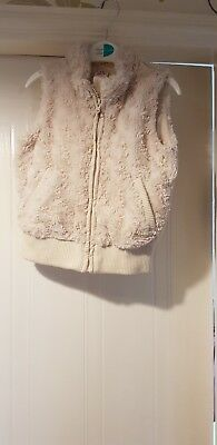 Girls fur gilet 3-4