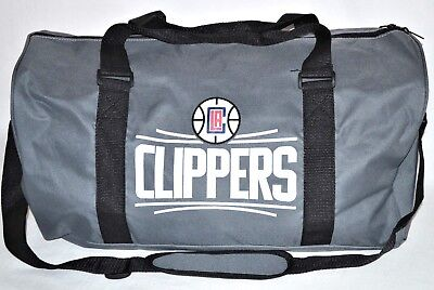 467d487cd5 Los Angeles LA Clippers Duffle Bag Shoulder Travel Basketball Gym Sports