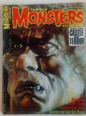 Famous Monsters Of Filmland #33