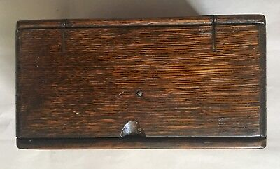 ORIGINAL ANTIQUE SINGER SEWING PUZZLE BOX, Early 1900